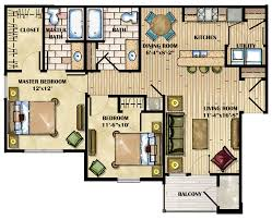 2 Bedroom Home Plans Colors Luxury Apartment Floor Plans Villages Of Campbell Oaks