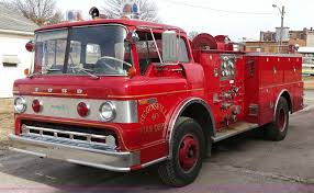 100 Ford Fire Truck 1973 Boardman 900 Fire Truck Item F8368 SOLD April