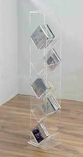 Acrylic Floor Standing Cd Rackacrylic Holderacrylic Display Stand