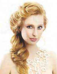 Vintage Hairstyle With Long Braid