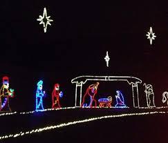 Light Display at Lights Under Louisville at Mega Cavern