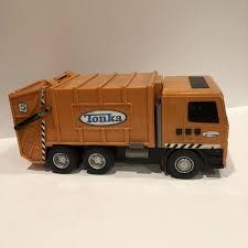 100 Garbage Truck Tab Hasbro Funrise Orange Tonka Recycling Ready For Some