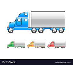 100 Mac Truck Lorry Mac Truck Icon Royalty Free Vector Image