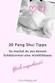 tipps fürs feng shui schlafzimmer