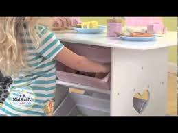 Kidkraft Star Childrens Table Chair Set by Kidkraft Heart Table U0026 Chair Set With Pastel Bins 26913 Youtube