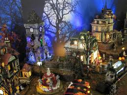 Dept 56 Halloween Village List by Halloween Christmas Village Collector U0027s Most Interesting Flickr