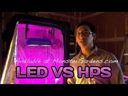 led grow light testing growlight versus a 400 600 watt hps led