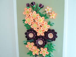 Wall Decor Flowers Decoration With