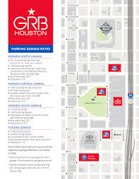 100 Truck Route Driving Directions Downtown Houston Parking Maps George R Brown Convention Center
