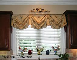 Kitchen Curtain Valance Styles by Up To Date Kitchen Valances Trendshome Design Styling