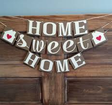 Home Sweet Banner Housewarming Party By BeeYouDesigns On Etsy