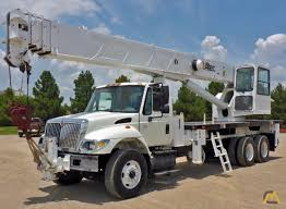100 Altec Boom Truck AC38127S 38ton Crane On Peterbilt 330 SOLD S
