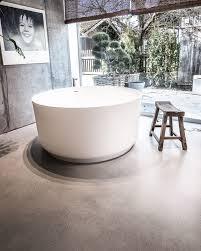 creafloor design estrich badezimmer sichtestrich