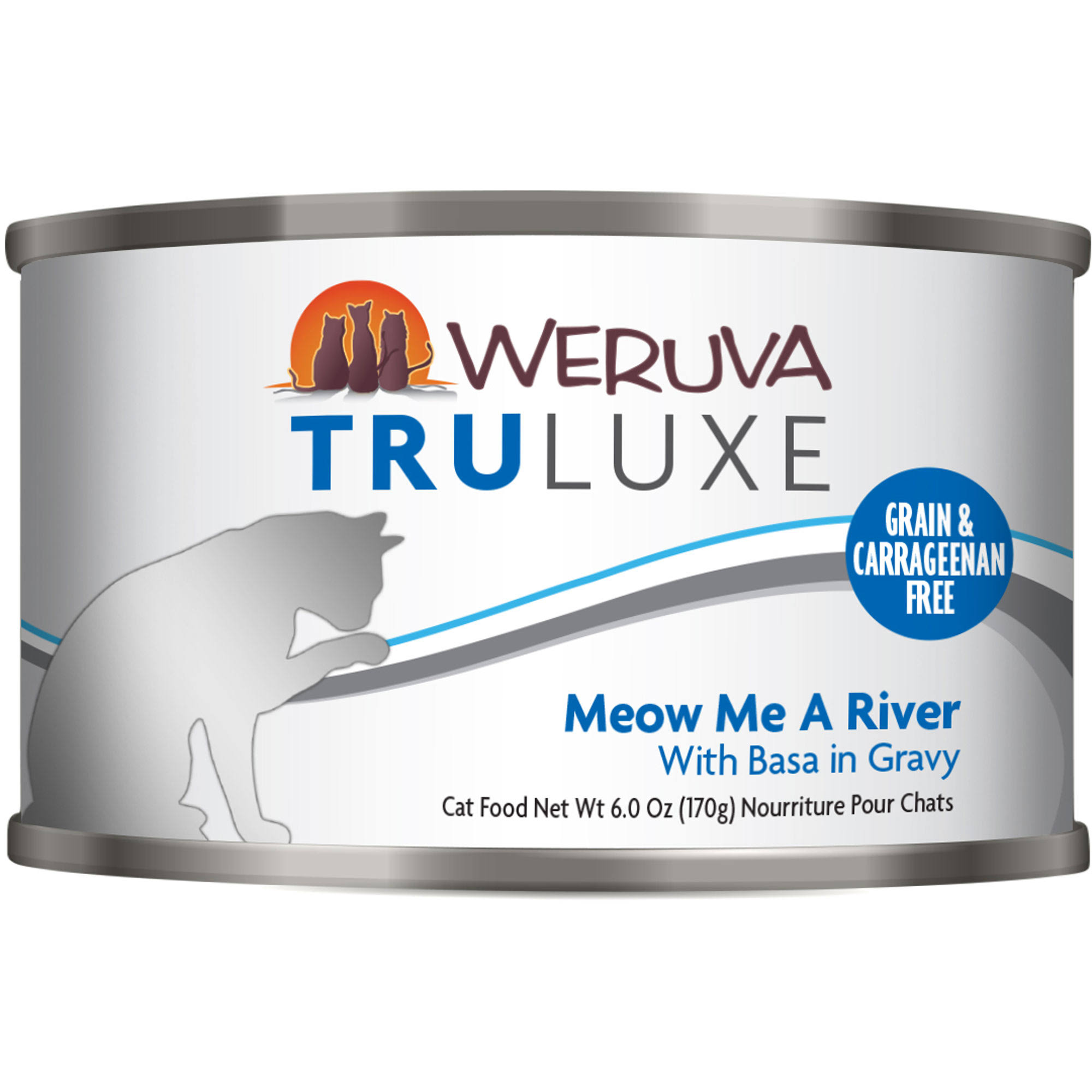 Weruva Truluxe Cat Food - Meow Me A River With Basa In Gravy