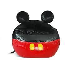 Kmart Frozen Bean Bag Chair by Teen Boy Baseball Bedroom Ideas Toddler Convertible Mickey Mouse