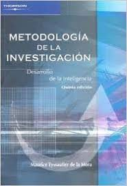 Metodologia De La Investigacion Research Methodology Desarrollo Inteligencia Spanish Edition 5th