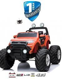 100 Kids Monster Trucks Electric Ride On Car Truck 24V