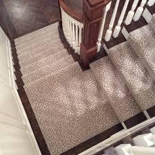 Animal Print stair runner — Donna Benedetto Designs