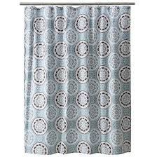 Gray Ombre Curtains Target by Medallion Shower Curtain Threshold Target