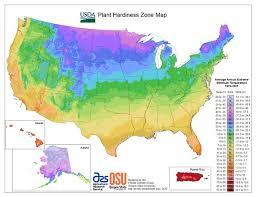 usda hardiness zone map and lookup