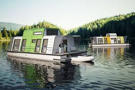100 Boathouse Designs Prefab Houseboat Design Can Be Assembled In Two Days Curbed