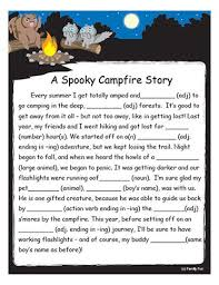 Halloween Mad Libs Esl by Fill In The Blanks Story Beach Beach And Mad