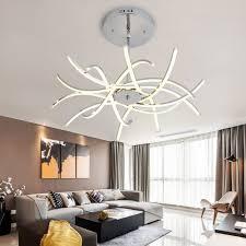 led chandelier lighting for living room bedroom dining room