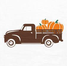 100 Antique Truck Pumpkin SVG SVG Halloween SVG Fall Svg Etsy