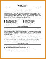 Sample Executive Mba Resumes 9 Letter Setup Resume Example