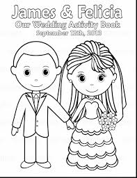 Outstanding Printable Wedding Coloring Book With Pages And Free