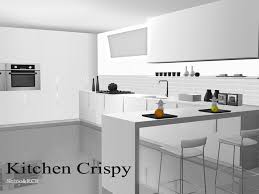 The Decor Objects Comes In White Black And Crome Everythingeven Fruits Are Fully Recolorable Found TSR Category Sims 3 Kitchen