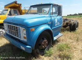 100 Commercial Truck Auction 1970 GMC 5500 Truck Chassis Item DB2656 SOLD July 19 Ve