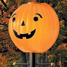 Halloween Express Milwaukee Pumpkin by Amazon Com Thanksgiving Pumpkin Jack O Lantern Lamppost Cover