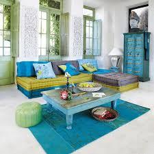 orientalische einrichtung im wohnzimmer couchtisch