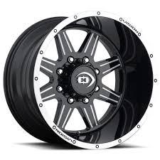 100 20 Inch Truck Rims 6 Lug 1397 55 Lifted Black N Machined Wheels X12 Set Of