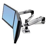 Ergotron Sit Stand Desk by Ergotron Lx Desk Mount Lcd Arm For Workfit D Sit Stand Desk