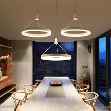Hot Sale Circels Pendant Lamp Hanging Acrylic Lights For Bar Dining Kitchen Room Home Lighting Ac