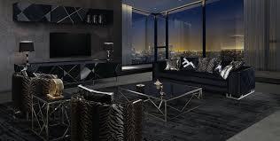 casa padrino luxus wohnzimmer tv schrank set schwarz silber 1 tv schrank 1 wandregal edles wohnzimmer möbel set luxus qualität