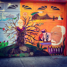 Clarion Alley Mural Project by Street Magic Balmy And Clarion Alleys Try This Road