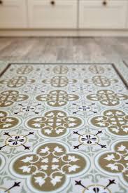 Patterned Linoleum Flooring Vinyl Floor Tiles Modern Retro Patterns