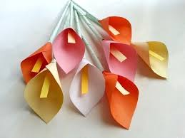 Construction Paper Flower Crafts