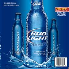 Bud Light Beer 24 pack 16 fl oz Walmart