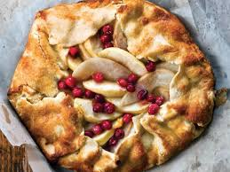 Free Form Apple Pear Cranberry Tart