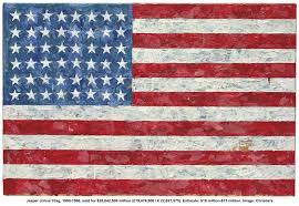 Jasper Johns Flag Large