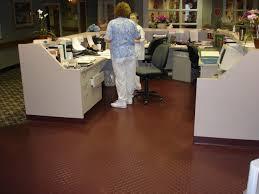 johnsonite rubber tile textures rubber flooring in senior home s nursing station