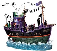 Lemax Halloween Village Displays by Amazon Com Lemax 95885 Transylvania Transport Spooky Town Ship