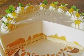 quark pfirsich sahne torte