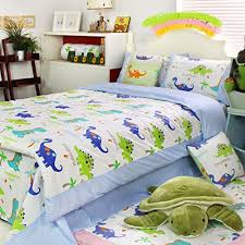 FADFAY Home Textile Dinosaur Bedding Sets Anime Bed Sheets Set