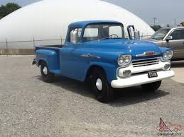 Very Nice 1958 Chevrolet Apache Pick Up Truck 1958 Chevrolet Apache Stepside Pickup 1959 Streetside Classics The Nations Trusted Cameo F1971 Houston 2015 For Sale Classiccarscom Cc888019 This Chevy Is Rusty On The Outside And Ultramodern 3100 Sale 101522 Mcg 3200 Truck With A Twinturbo Ls1 Engine Swap Depot Editorial Stock Image Of Near Woodland Hills California 91364 Chevrolet Pickup 243px 1 Customer Gallery 1955 To