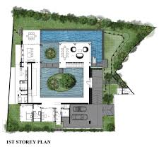 100 The Willow House Plan Gallery Of Guz Architects 13